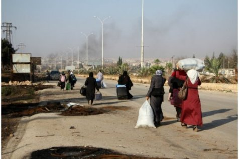 38 civilians killed in two days by attacks in Aleppo, Syria