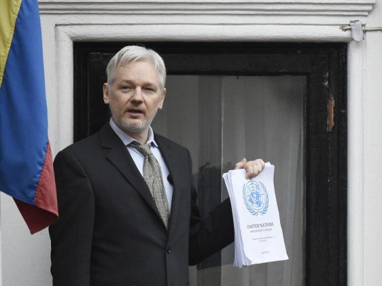 Julian Assange said that WikiLeaks did not receive from Russia Hillary Clinton emails