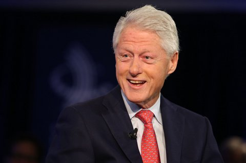 Bill Clinton: first lady? first man? What would be his title?