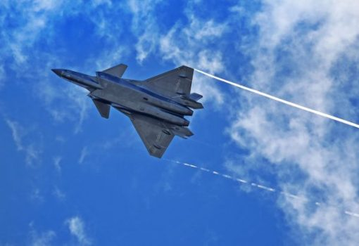 China modernizes their Air Force with the presentation of fighter J-20