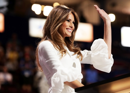 Melania Trump worked as a model in the US without work permits