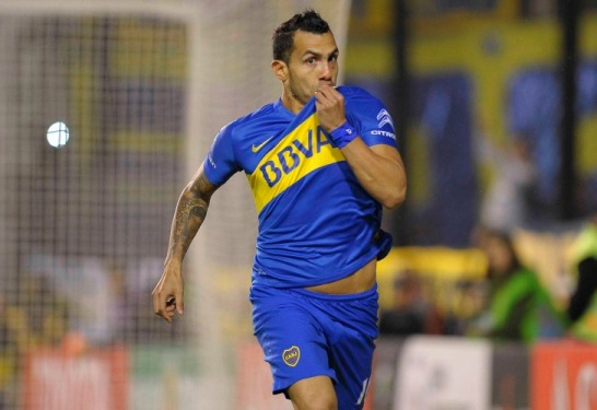 carlos tevez in chiness club