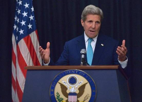 kerry defends palestinian state