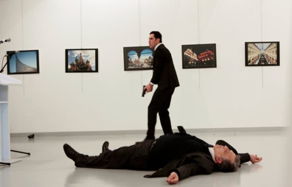 Turkish policeman killed Russian ambassador in Ankara
