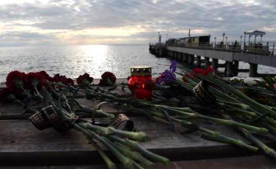 Russia finds the black box of the military plane that crashed in the Black Sea