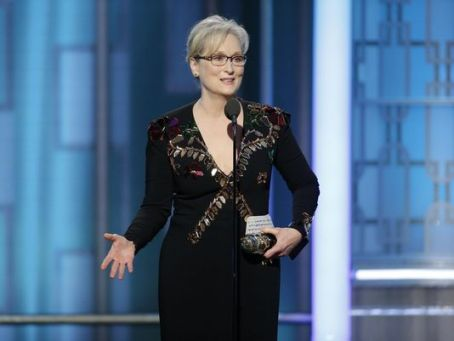 Meryl Streep lashes out against Trump at the Golden Globe Awards