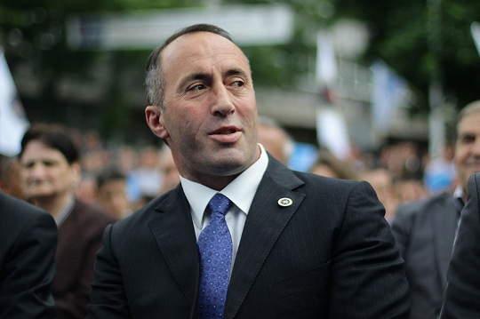 Minister of Kosovo Ramush Haradinaj