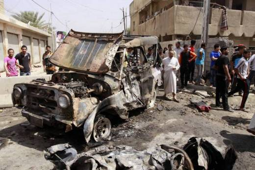 At least 48 killed by a car bomb in a new attack in Baghdad