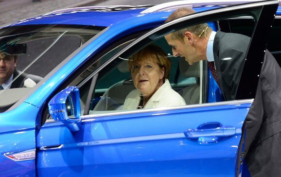 Angela Merkel on Volkswagen scandal