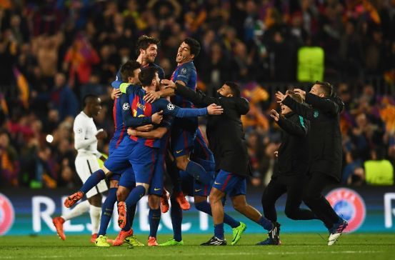 Barcelona achieved a historic feat: Thrashed 6-1 to PSG and is in quarters