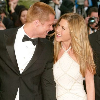 Brad Pitt and an unexpected approach to… Jennifer Aniston!
