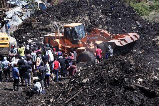 garbage dump in ethiopia