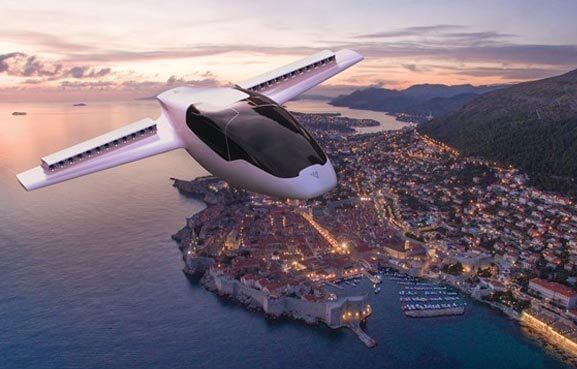 flying taxi Lilium