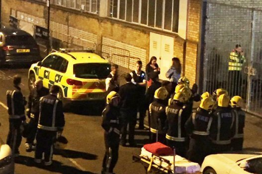 "London: ""attack"" with acid in a nightclub full of people"