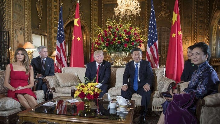 meeting between Trump and Xi Jinping