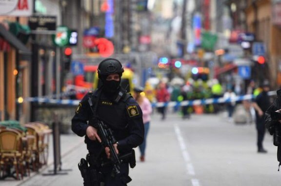terrorist attack in Stockholm