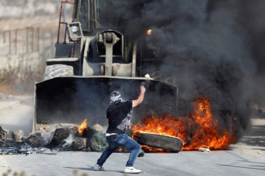 The Israeli prime minister under pressure for clashes that left eight dead