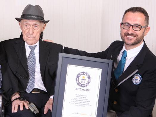 The oldest man in the world dies at age 113, Holocaust survivor