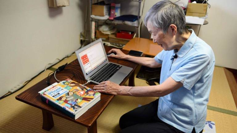 An 82-year-old woman developed an app that caught Apple's eye