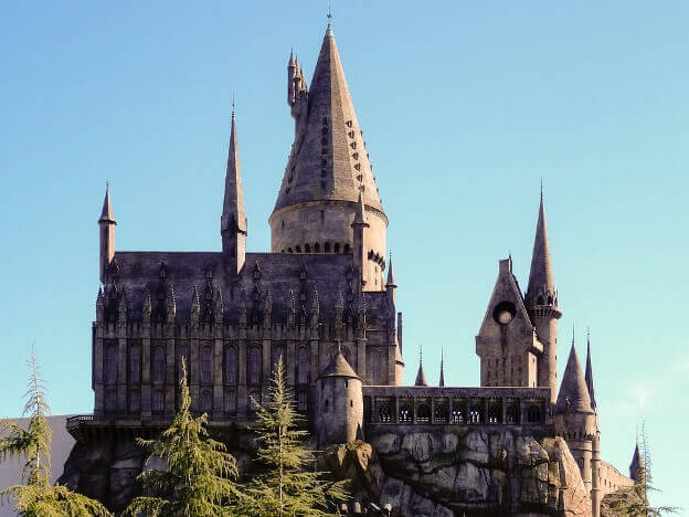 footsteps of harry potter