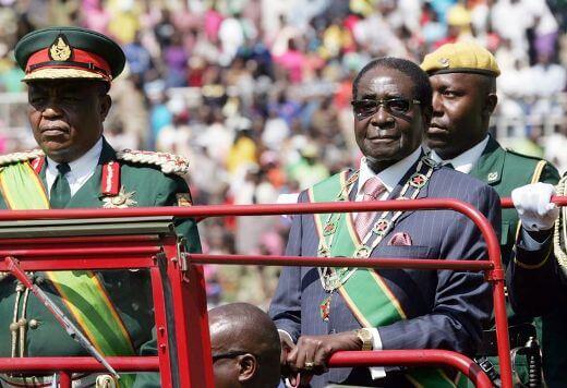 Mugabe refuses to resign