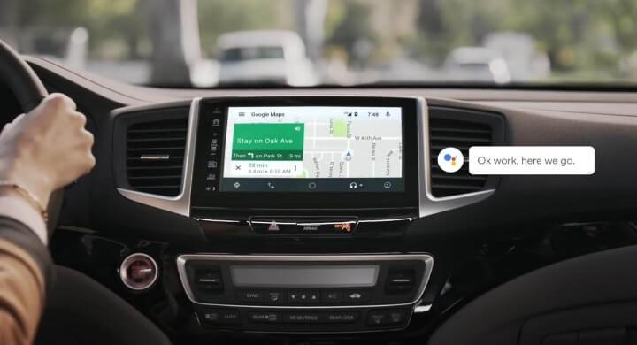 google assistant for car