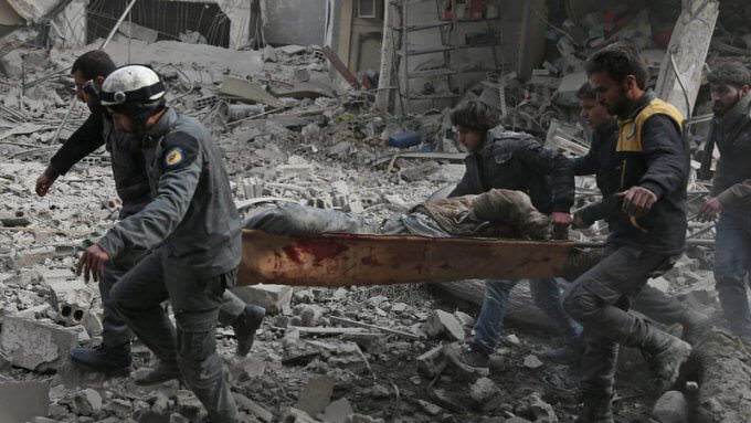 "Russia orders a ""humanitarian break"" of five hours a day in Ghouta Oriental"