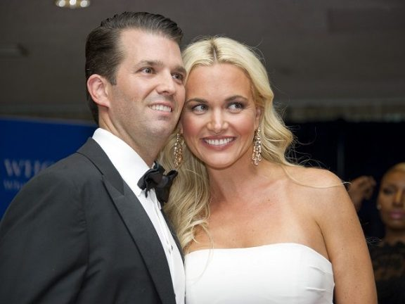 Trump Jr.'s wife, hospitalized after opening a letter with white powder