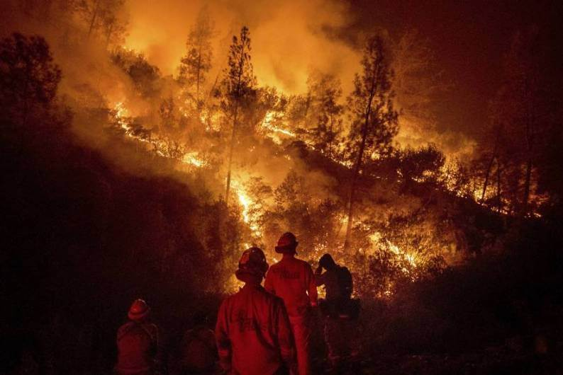 California, a disaster not so natural